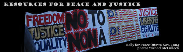 peace banner
